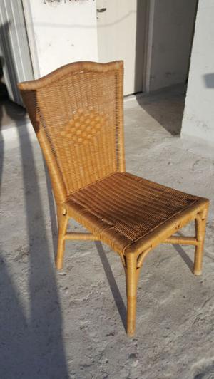 Vendo 6 sillas hermosas