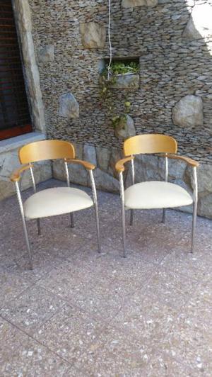 Vendo sillas usadas