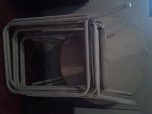 Vendo sillones y mesa
