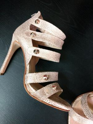 Zapatos Saverio Di Ricci Talle 36 Rose Gold