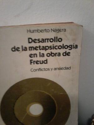 vendo libro psi: Desarrollo de la metapsicología en la obra