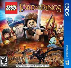 3ds Lego Lord Of The Rings Nuevo Fisico Sprintplay