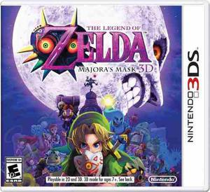 3ds The Legend Of Zelda Majora's Mask!! Nuevo, Sellado!!!