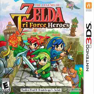 3ds The Legend Of Zelda: Tri Force Heroes Original Fisico N