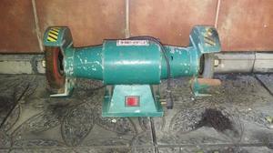 Amoladora De Banco 1/2 Hp.  R.p.m. Con Piedra Y Cepillo