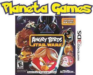 Angry Birds Star Wars Nintendo 3ds Nuevos Caja Cerrada
