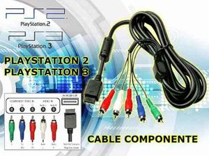 Cable Video Componente Playstation 2 Playstation 3