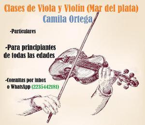 Clases de Violín y Viola Principiantes