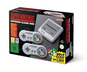 Consola Snes Super Nintendo Mini 2 Joysticks 21 Juegos !