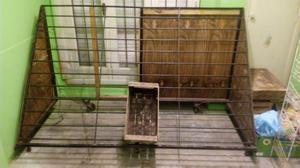 Cajones de fruta reciclados estantes repisas posot class - Estantes reciclados ...