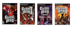 Guitar Hero - Juegos Ps2