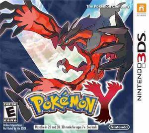 Pokemon Y Nintendo 3ds Fisico Nuevo Sellado
