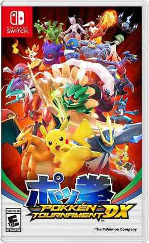 Pokken Tournament Dx Switch Fisico Sellado Original Nuevo !!