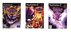 Spyro - Sonic - Juegos Ps2
