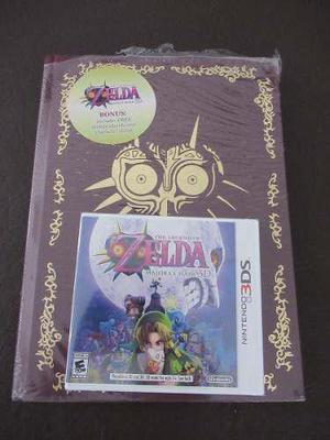 The Legend Of Zelda Majoras Mask 3ds + Guía Oficial