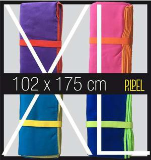 Toalla De Microfibra Xl 175x102cm - Muy Grande - Seca