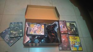VENDO, Playstation 2 con 4 joysticks y 7 JUEGOS.