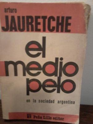 """Vendo libro """"El medio pelo"""" de Jauretche"""
