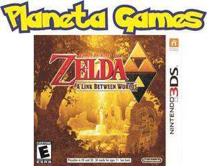Zelda A Link Between Worlds Nintendo 3ds Nuevos Caja Sellada