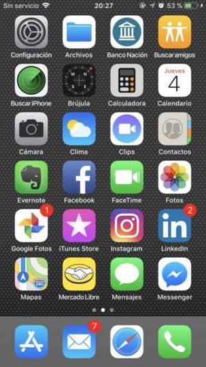 iPhone  gb jetblack libre en caja 7 meses uso. Villa