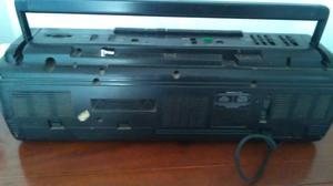 Grabador casetera y radio