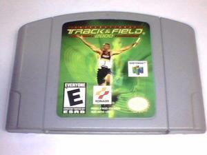 International Track & Field 2000 N64 Original Solo El Juego