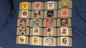 Juegos Nintendo 64 Japoneses Originales Muy Buenos Titulos