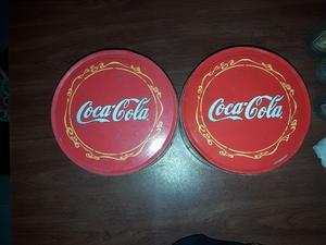 Latas de galletitas de Coca Cola