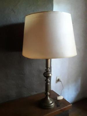Lámpara de mesa bronce