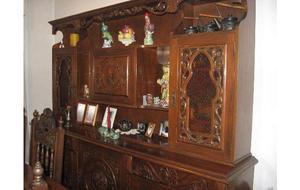Mueble aparador modular estante cedro excelente estado