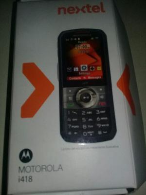 Nextel Motorola Í418..liberado Casi Sin Uso Impecable