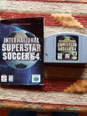 Nintendo 64 International Superstar Soccer