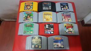 Pack De Juegos Nintendo 64