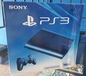 Ps3 Playstation 3 Slim 500gb + 70 Juegos Cargados