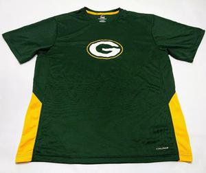 Remera De Green Bay Packers Nfl Majestic Talle Xl Cool Base
