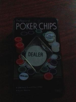 Se venden fichas de poker