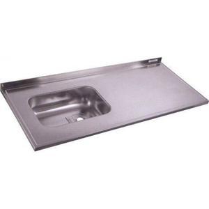 Vendo puerta de placa y mesada de acero inoxidable nuevas