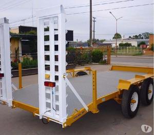 Vendo trailer de auxilio reforzado