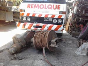 malacate hidraulico para mas de 20 ton con 200 mts de cable