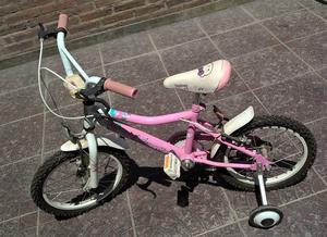Bicicleta Musetta Nena Rodado 14 - Casi Sin Uso - La Plata