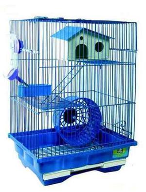 Hamstera 2 Pisos Hamster Rusos Sirios Jerbos Pet Shop Beto