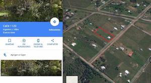 Lote Venta Ingeniero Allan 3000 m2 zona casa quintas