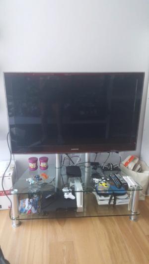 Mesa con soporte para TV