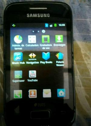 Teléfono Samsung yang duos