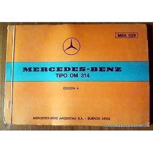 manual despiece mercedes benz om 314 de 1969 de 14 laminas y