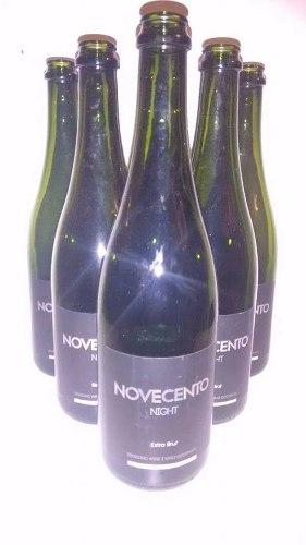 Botellas Champagne Novecento 750 Cm3 Vacias X 12