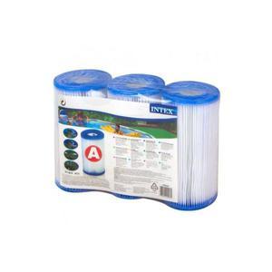 Cartucho filtro FILTRANTE INTEX MODELO A x 3 Uds