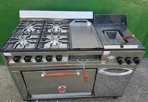 Parrilla con base de ladrillos reflactarios posot class for Parrilla cocina industrial