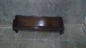 Estante repisa de madera antiguo para colgar