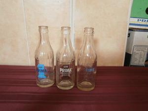 Lote De Botella De Leche Prima De Lujan